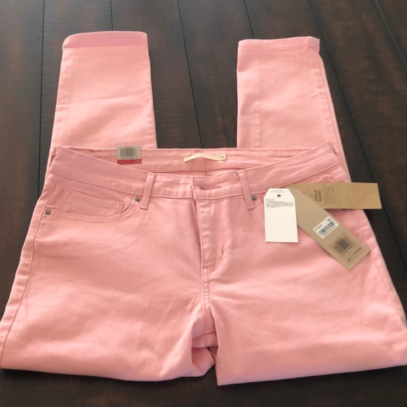 Levi's Denim - Levi's 711 NWT light pink Ankle Skinny Jeans